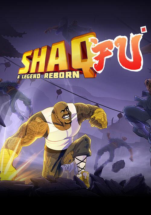 Shaq Fu: A Legend Reborn - Cover