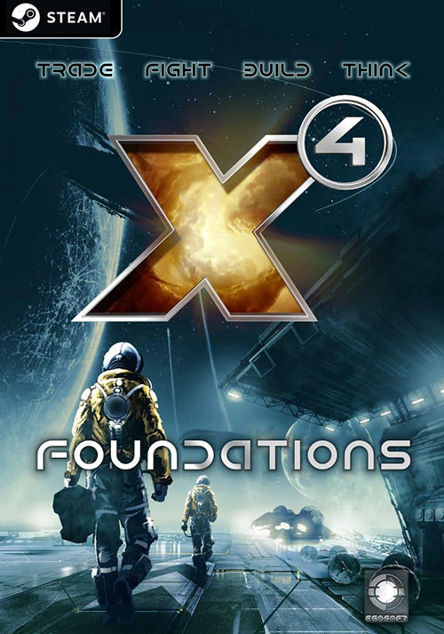 X4: Foundations - Cover
