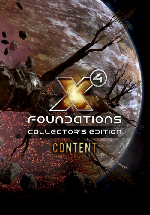 X4: Foundations Collector's Edition Content - Cover / Packshot