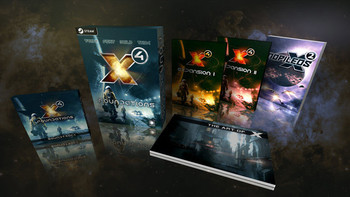 Screenshot1 - X4: Foundations Collector's Edition Content