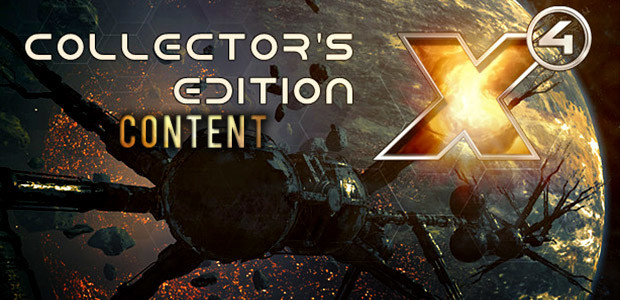 X4: Foundations Collector's Edition - Extra Content - Cover / Packshot