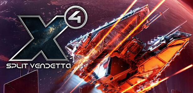 X4: Split Vendetta - Cover / Packshot