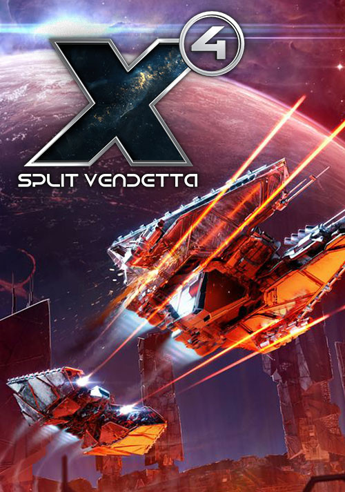 X4: Split Vendetta - Cover / Packshot