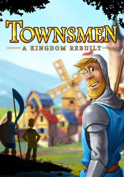 Townsmen - A Kingdom Rebuilt - Cover / Packshot