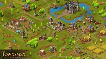 Screenshot1 - Townsmen - A Kingdom Rebuilt