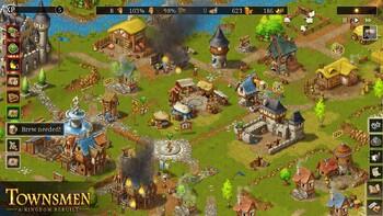 Screenshot5 - Townsmen - A Kingdom Rebuilt