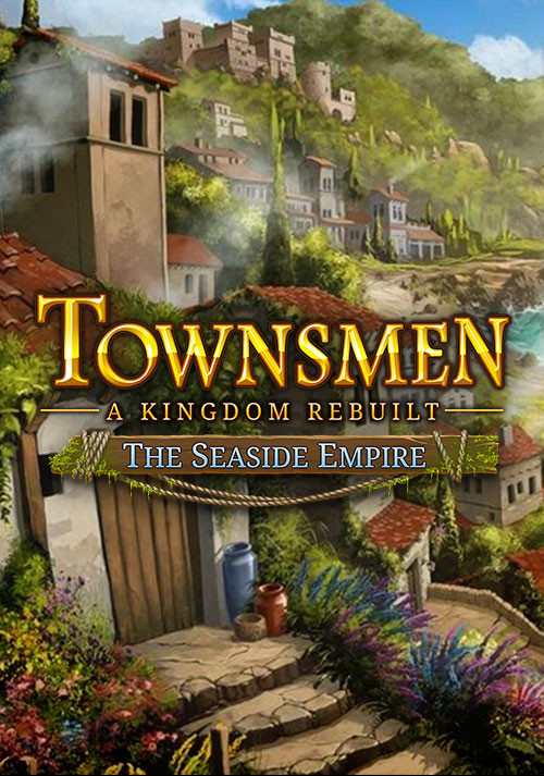 Townsmen - A Kingdom Rebuilt: The Seaside Empire - Cover / Packshot