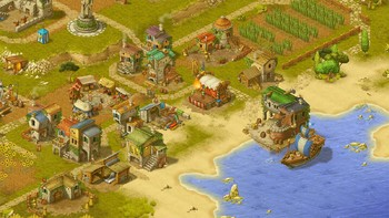Screenshot1 - Townsmen - A Kingdom Rebuilt: The Seaside Empire