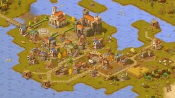 Screenshot2 - Townsmen - A Kingdom Rebuilt: The Seaside Empire