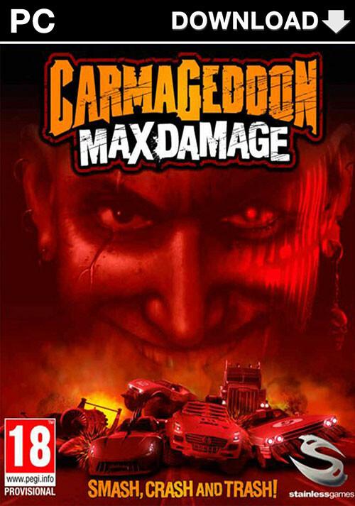 Carmageddon: Max Damage - Cover / Packshot