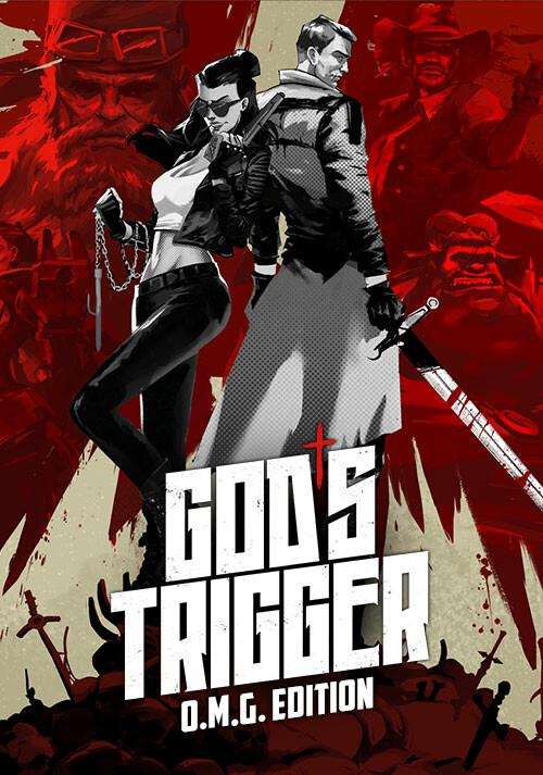 God's Trigger O.M.G. Edition - Cover / Packshot