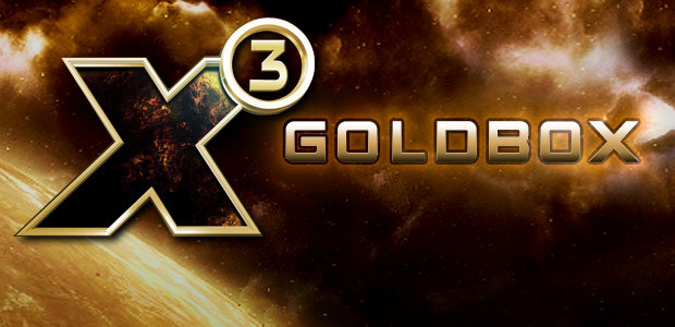 X3: GoldBox - Cover / Packshot