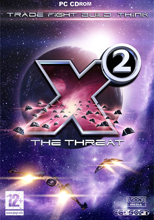 X2: The Threat - Cover