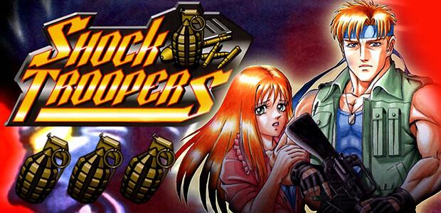 SHOCK TROOPERS - Cover / Packshot