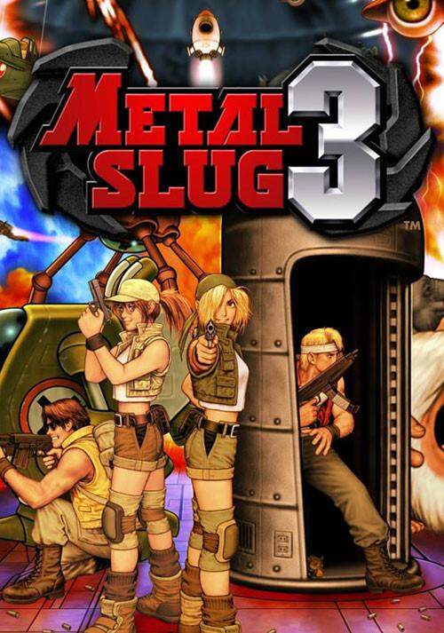 METAL SLUG 3 - Cover
