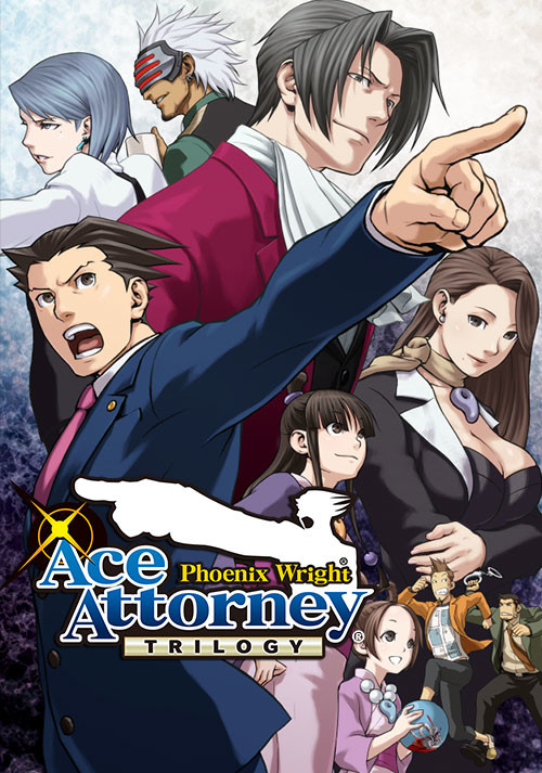 Phoenix Wright: Ace Attorney Trilogy / 逆転裁判123 成歩堂セレクション - Cover