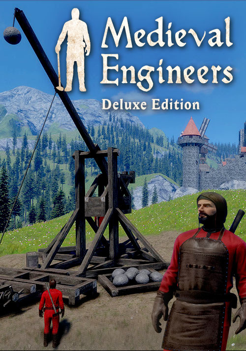 Medieval Engineers Deluxe Edition - Cover