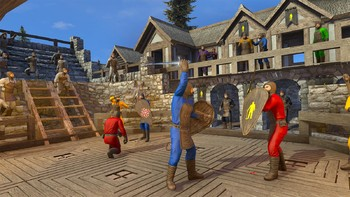 Screenshot2 - Medieval Engineers Deluxe Edition