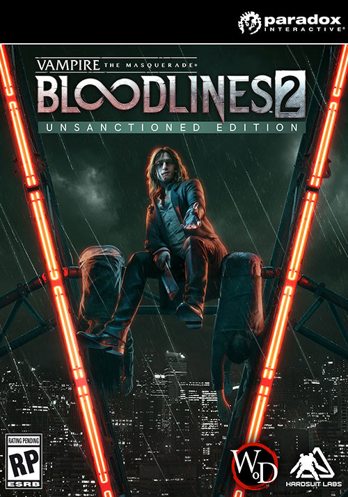 Vampire: The Masquerade - Bloodlines 2: Unsanctioned Edition - Cover