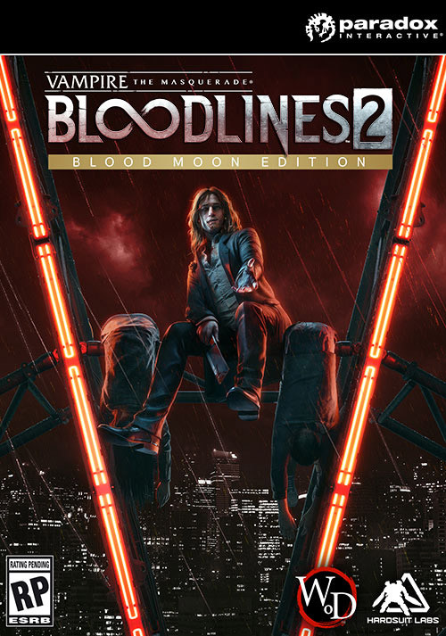 Vampire: The Masquerade - Bloodlines 2: Blood Moon Edition - Cover