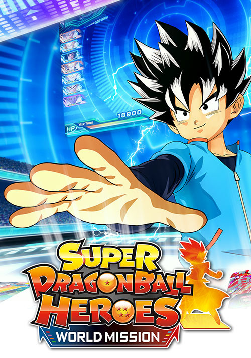 Super Dragon Ball Heroes World Mission - Cover