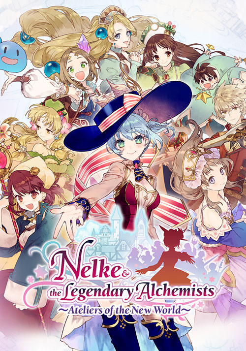 Nelke & the Legendary Alchemists ~Ateliers of the New World~ - Cover / Packshot