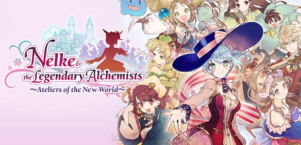 Nelke & the Legendary Alchemists ~Ateliers of the New World~ - Cover / Packshot