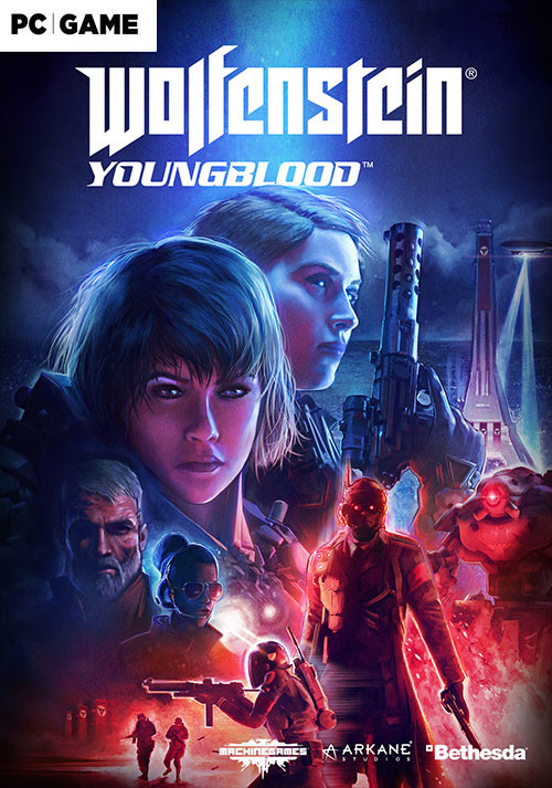 Wolfenstein: Youngblood - Cover