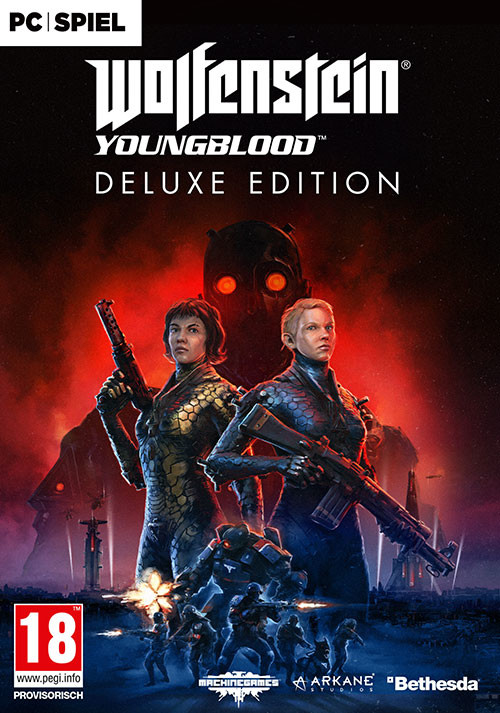 Wolfenstein: Youngblood Deluxe [USK DE VERSION] - Cover