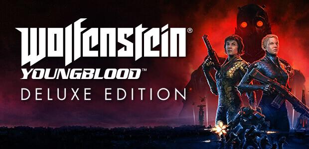 Wolfenstein: Youngblood Deluxe [USK DE VERSION] - Cover / Packshot