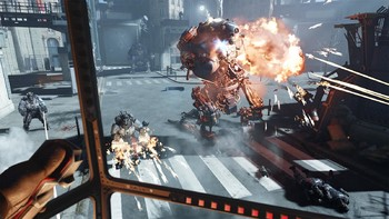 Screenshot1 - Wolfenstein: Cyberpilot