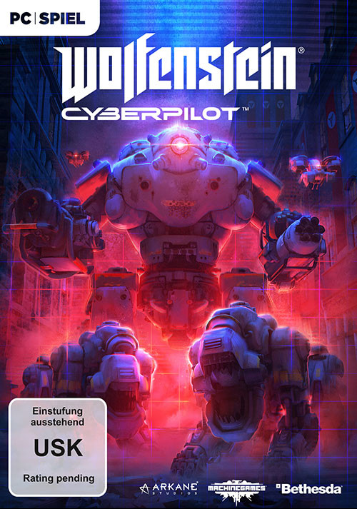 Wolfenstein: Cyberpilot [DE USK VERSION] - Cover / Packshot