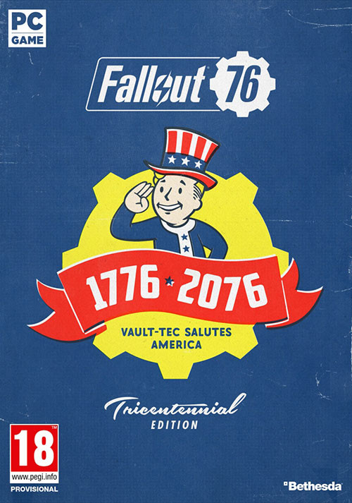 Fallout 76 Tricentennial Edition - Cover / Packshot
