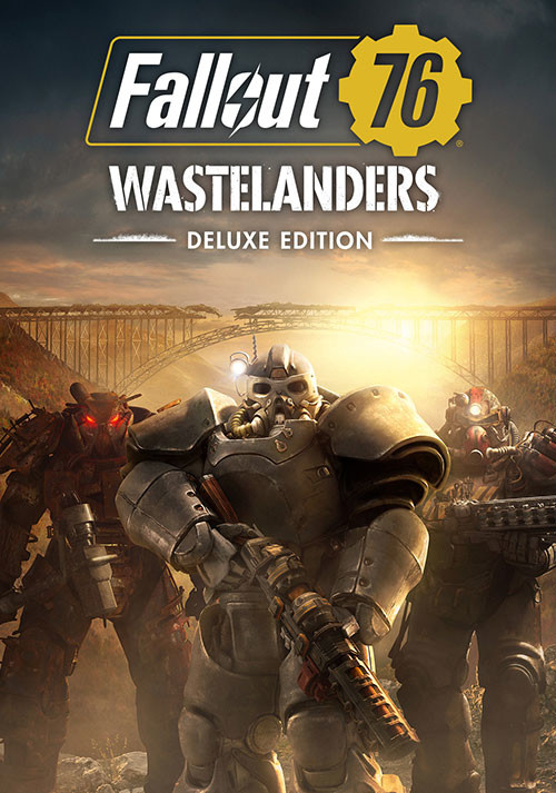 Fallout 76: Wastelanders Deluxe Edition - Cover / Packshot