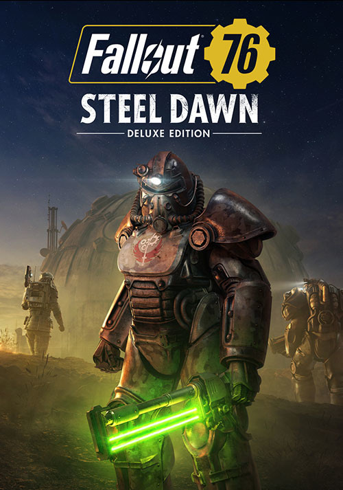Fallout 76: Steel Dawn Deluxe Edition - Cover / Packshot