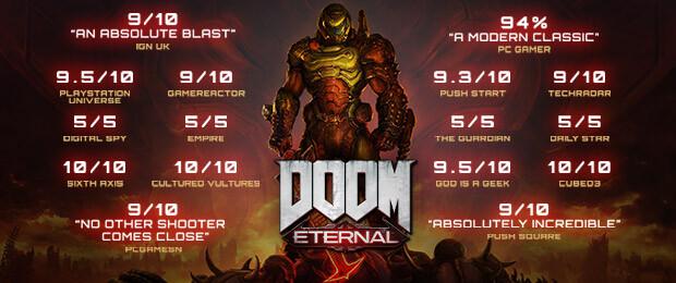 Un nouveau trailer pour DOOM Eternal