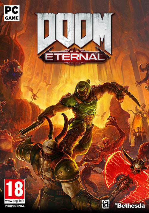 DOOM Eternal - Cover / Packshot