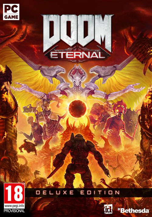 DOOM Eternal Deluxe Edition - Cover / Packshot