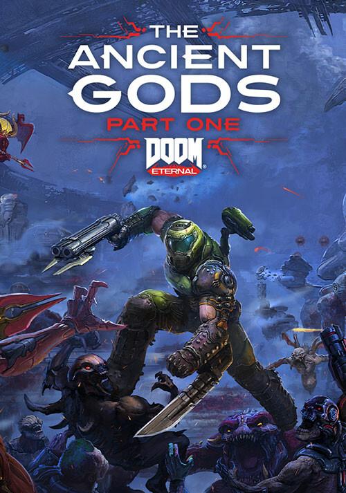 DOOM Eternal: The Ancient Gods -  Part One - Cover / Packshot