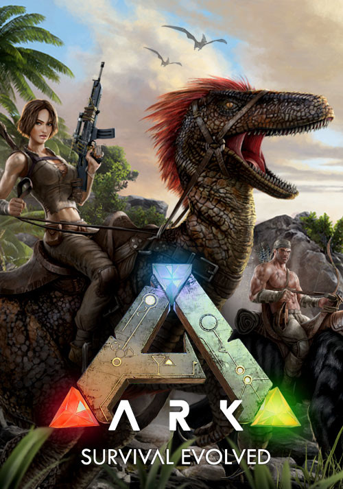 ARK: Survival Evolved - Cover / Packshot