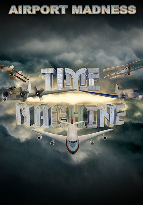 Airport Madness: Time Machine - Cover / Packshot