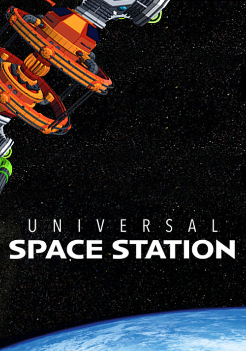 Universal Space Station - Cover