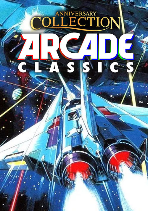 Arcade Classics Anniversary Collection - Cover
