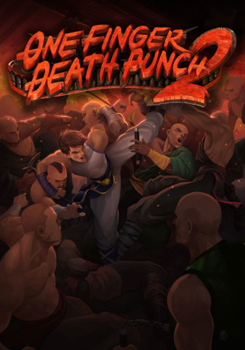 One Finger Death Punch 2 - Cover