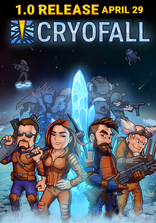 CryoFall - Cover / Packshot