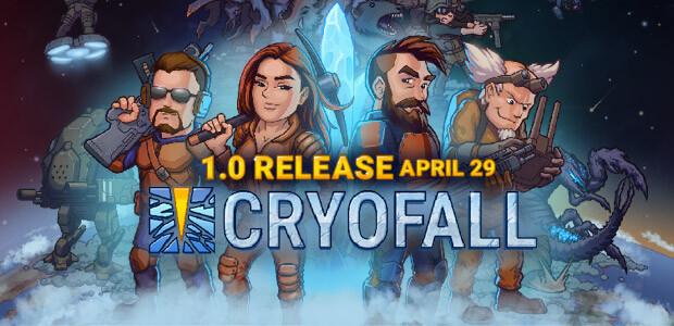 CryoFall - Cover / Packshot