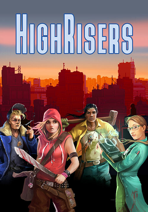 Highrisers - Cover / Packshot