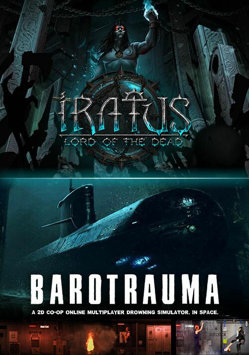 Iratus: Lord of the Dead & Barotrauma Bundle - Cover / Packshot