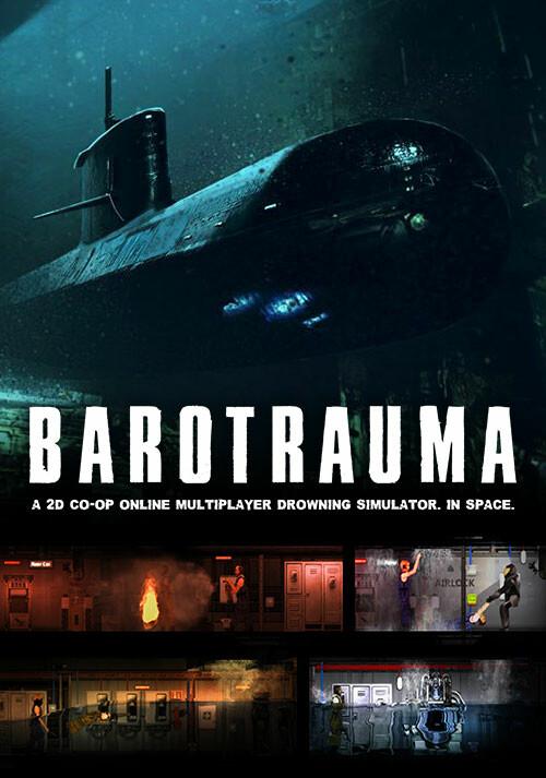 Barotrauma - Cover / Packshot