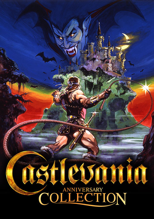 Castlevania Anniversary Collection - Cover